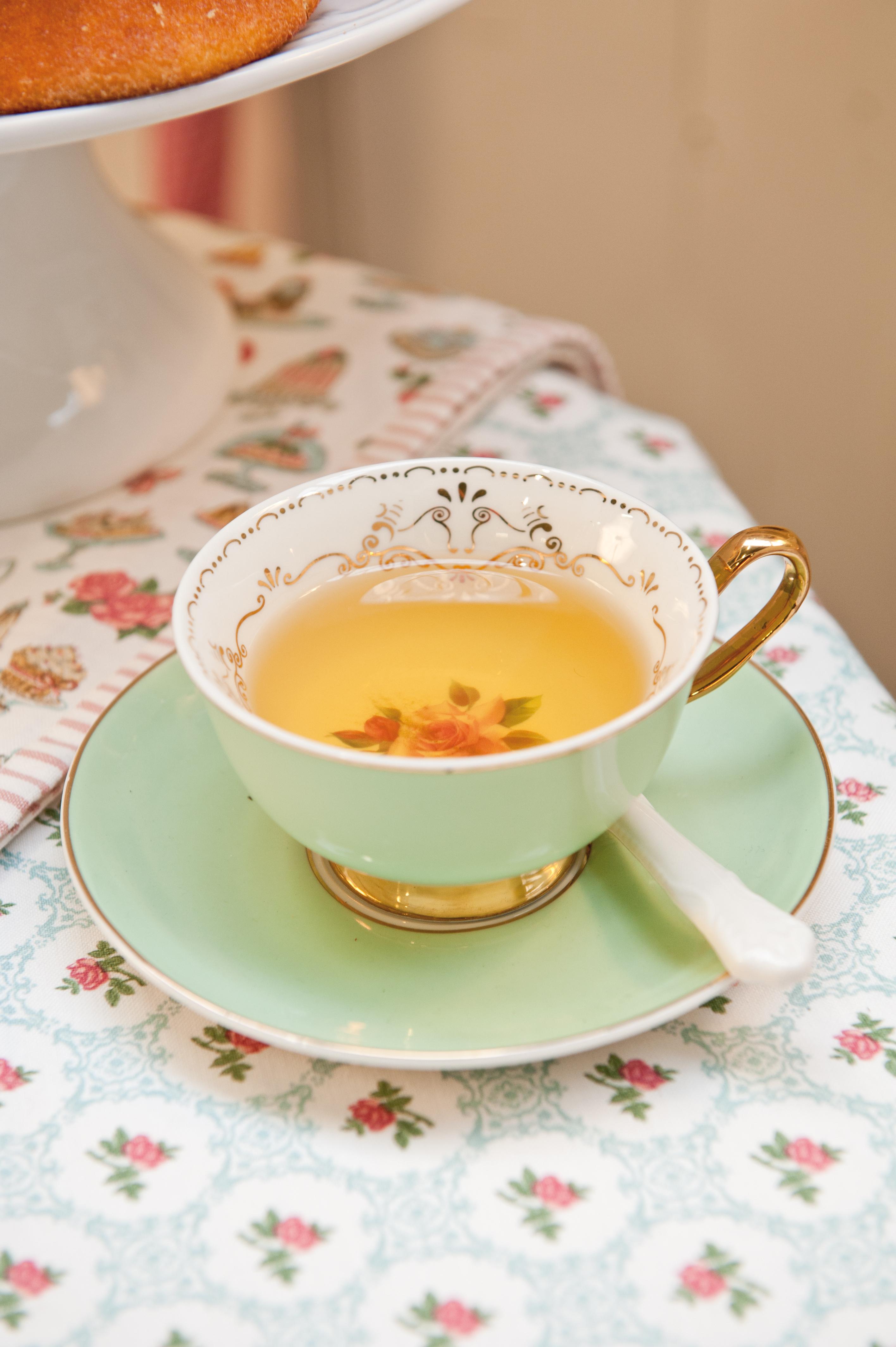 Stylový čaj o páté