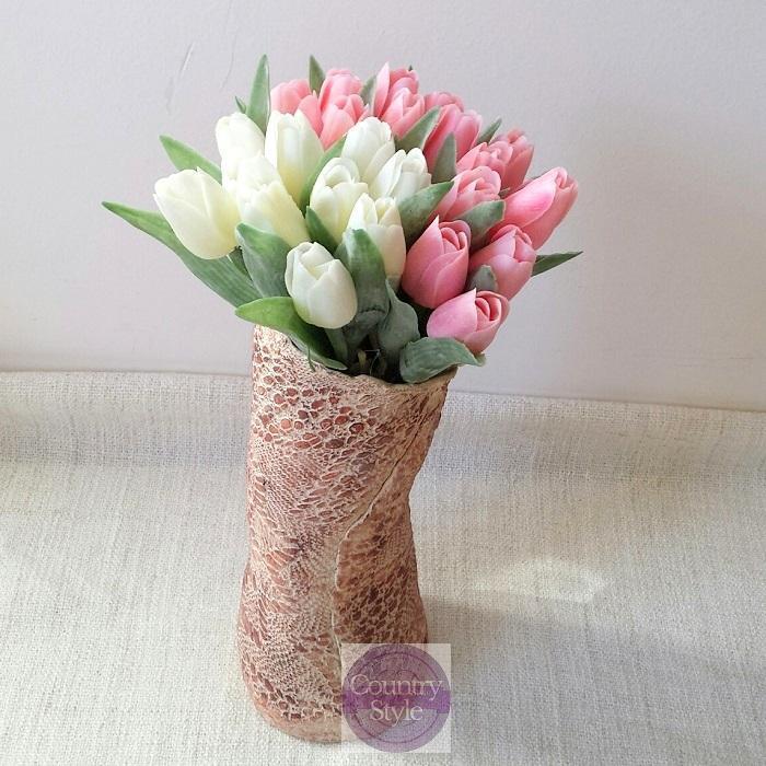 Jarní tulipán světle růžový  882eb1656f