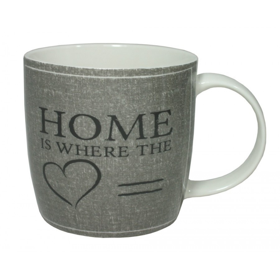 Porcelánový hrnek Home 330ml