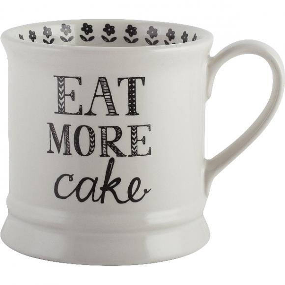 Keramický hrnek Stir it Up-Eat more Cake 280ml